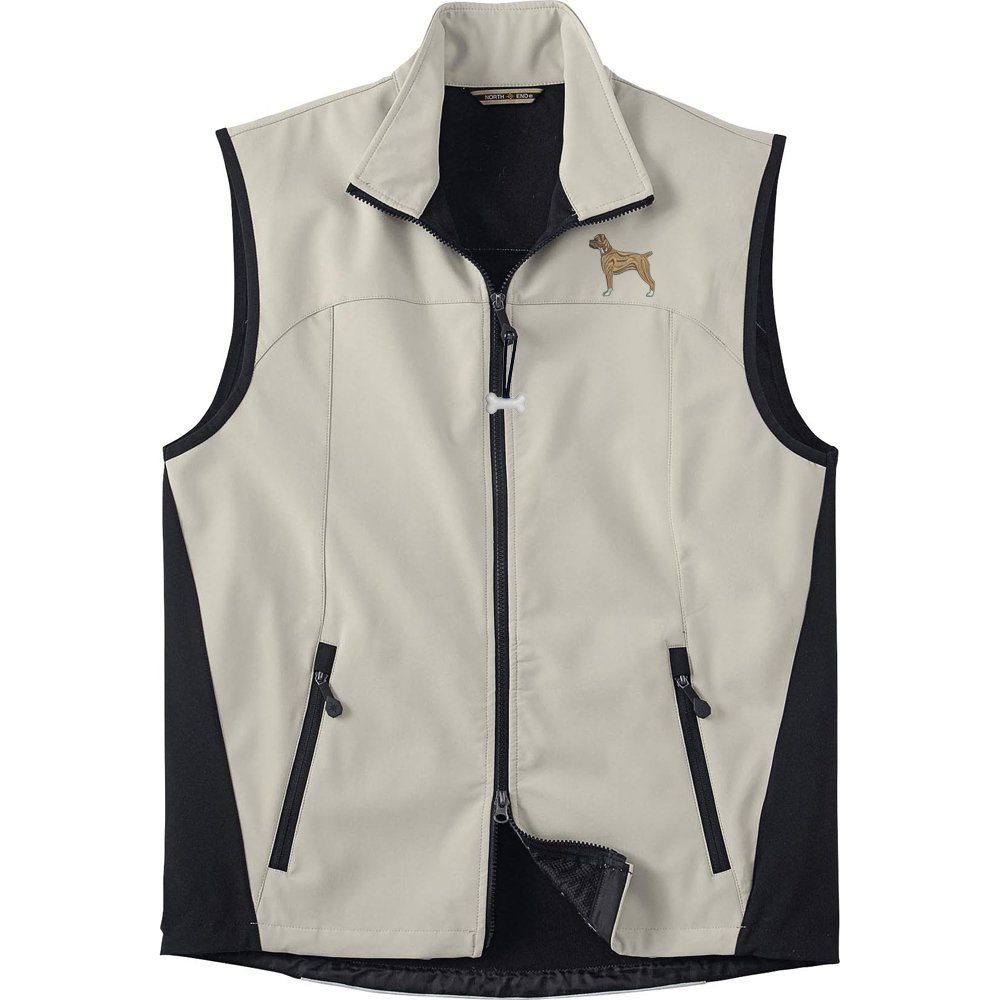 Boxer Ears Down Mens High Tec Vest Bone Zipper Pull