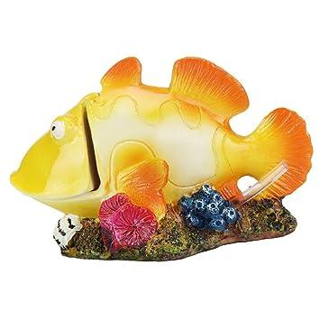 Kaiki burbuja para Acuario Paisaje, Cartoon resina castillo castillo de acuarios decoración acuario pecera Torre: Amazon.es: Productos para mascotas