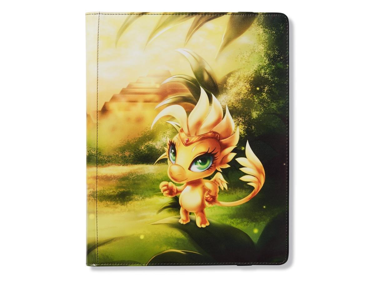 Binder: Dragon Shield 18 Pocket (Sideload) Portfolio: DORNA Yellow Arcane Tinman AT-34414