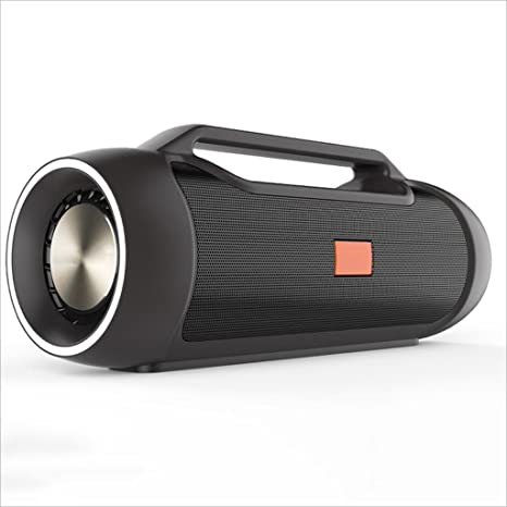 XHZNZI Street Vibe Altavoz Portátil Bluetooth Altavoz, 24W Alta Potencia Shock Bass Charging Pod,