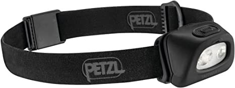 Petzl TACTIKKA PLUS Compact headlamp for preserving night vision and stealth
