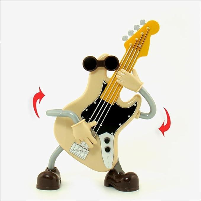 YONG regalo creativo caja de música guitarra violín caja de música ...