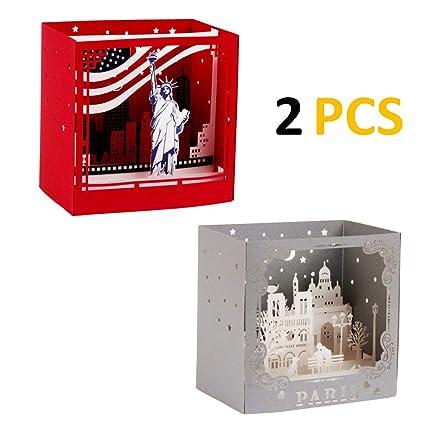 AlleTechPlus - Paquete de 2 tarjetas de felicitación de ...