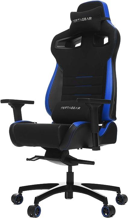 Vertagear VG-PL8_WT Chaise de Jeu Noir/Bleu
