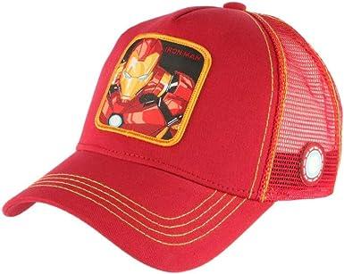 CAPSLAB Cappslab - Gorra de béisbol para Hombre, Color Rojo Rojo ...