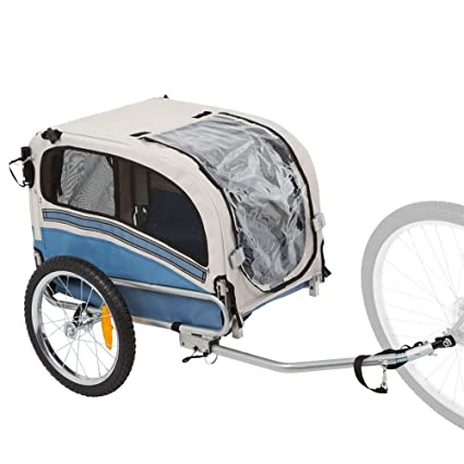 amazon com rage powersports 2 in 1 small dog bicycle trailer and