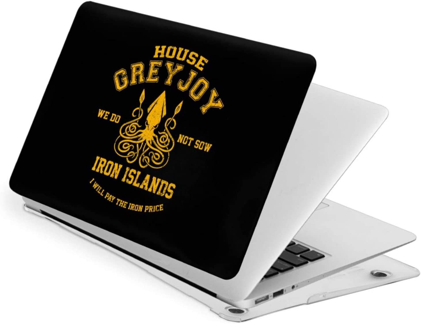 JHJHJ Game of Thrones-House Greyjoy Laptop Case Fornew Air13 Hard Case Shell Cover + A Keyboard Swipe The Quality of A Material is Frivolous,Good Heat Dissipation Performance