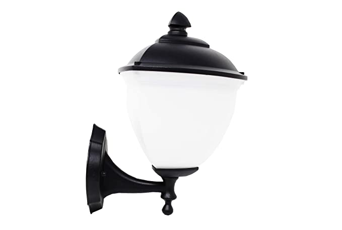 FactorLED Aplique Farol para Lámpara LED E27 Exterior, NO incluye bombilla, Foco para Pared