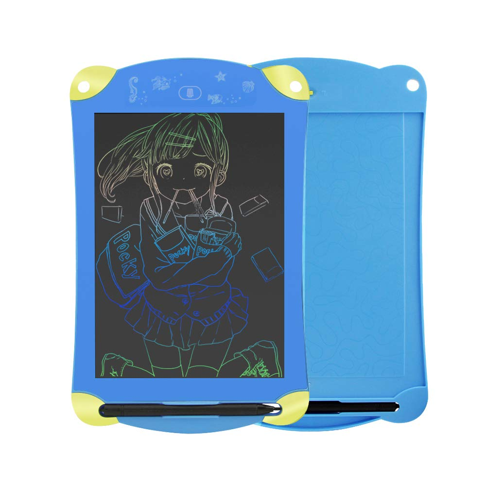 BeiLan 8.5-inch Portable Electronic Writing Crystal Doodle Board LCD Handwriting Board Kids Adults Drawing Tablet Wordpad for Home Office