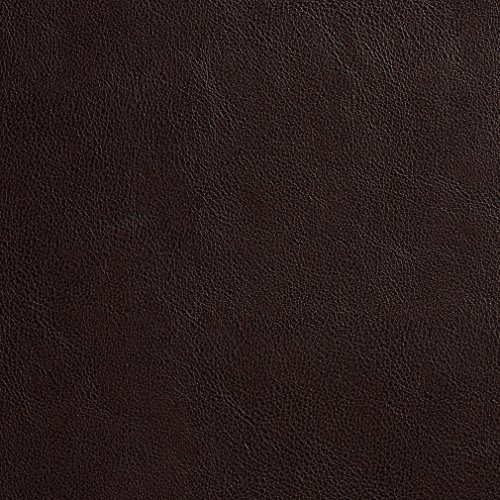 [G635 Dark Brown Small Leather Grain Upholstery Grade Recycled Leather (Bonded Leather) By The Yard] (Recycled Material Costume)