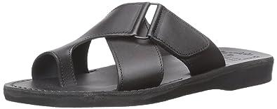Jerusalem Sandals Men's Asher Slide Sandal d1dm50GJbk