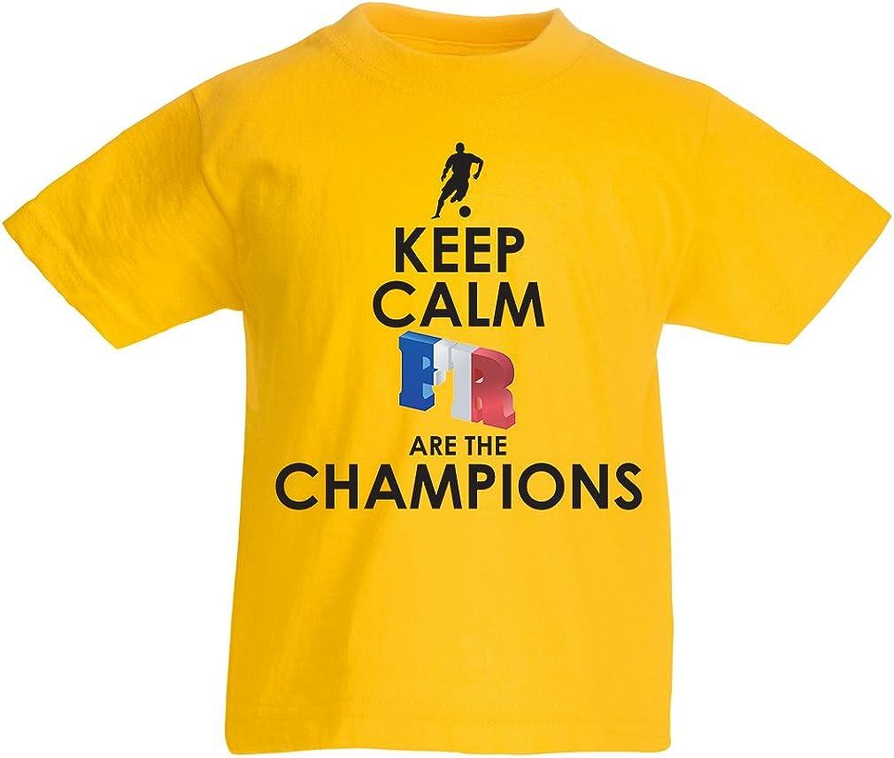 Camiseta Niños/Niñas Los franceses Son los campeones: Campeonato ...