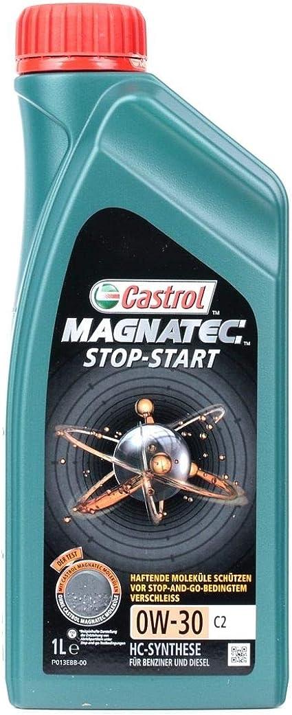 Castrol Motoröl Motorenöl Motor Motoren Öl Motor Engine Oil 0w 30 Magnatec Stop Start C2 Benzin Diesel 1l 15b3e4 Auto