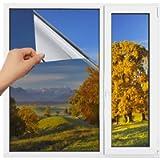 Homein One Way Mirror Window Film Heat Control Solar Reflective Windows Tint Anti-Uv Films Daytime Privacy Glass Sticker…