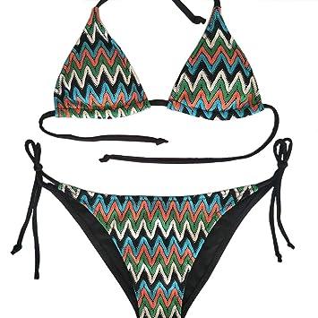 Vicsec BrasileñosVintage Bañador 2 Conjunto Piezas Bikinis Sexy De tsChQrdx