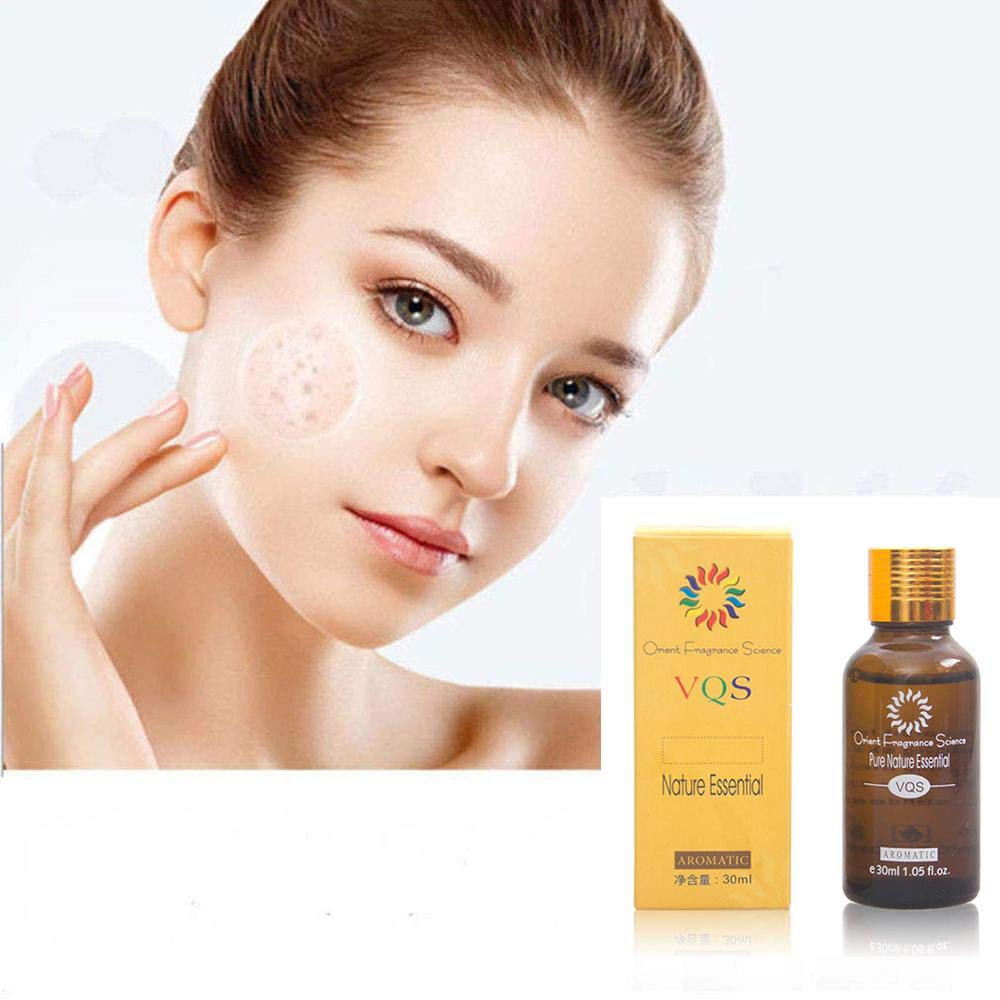 Pure Natural Ultra Brightening Spotless Oil- Foonee 2018 New Upgraded Skin Care Essence Oil- Remove Acne Dark Spots Age Spots Hyper-Pigmentation Fade Scar 30ml