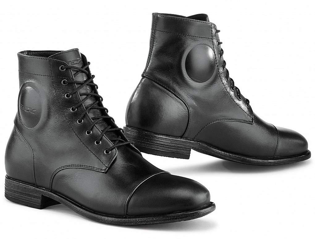 44 TCX Mens Metropolitan Street Motorcycle Boots Black
