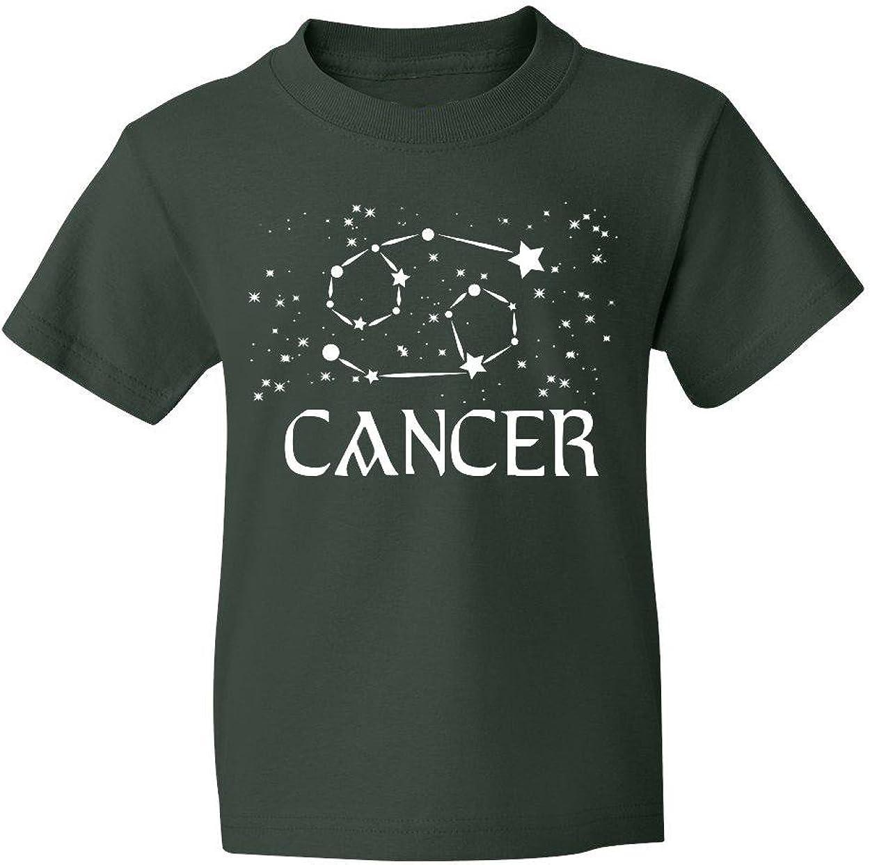 Marky G apparel Boys Cancer Zodiac T-Shirt