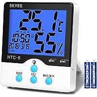 SKYEE Termómetro Higrometro Digital Interior, Medidor de Temperatura
