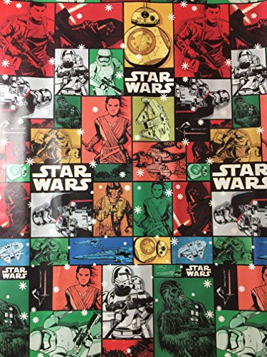 Star Wars 7 The Force Awakens Christmas Wrapping -