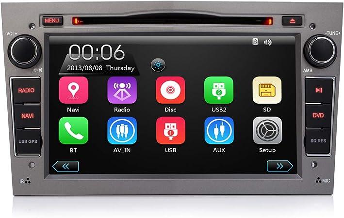 Ifrego Car Radio For Vauxhall Antara Astra Combo Corsa Meriva Vectra Zafira Vivaro 7 Inch 2