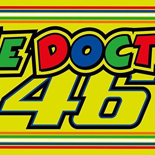 "VR46 Bandana Valentinstag rot /""The Doctor 46/"""