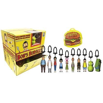 Amazon.com  Hot Topic Bob s Burgers Series 1 Backpack Hangers Blind ... c5c9f6c9f6ce