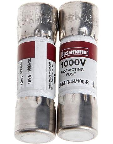 LANDUM 2PC DMM-B-44/100 10x35MM 44MA 1000VAC/DC Buss Fuse