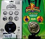 Mighty Morphin Power Rangers Coin Radio with Headphones Yellow Ranger