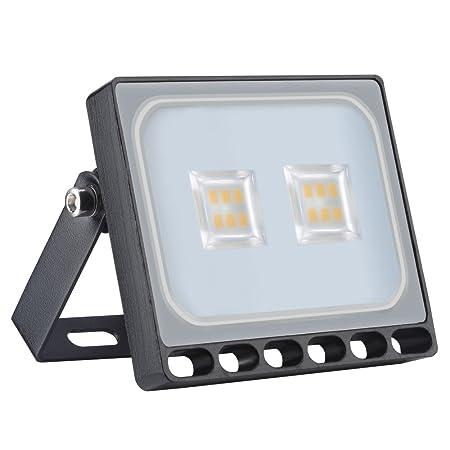 Foco proyector LED 10W para exteriores, resistente al agua IP65 ...