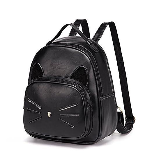 Amazon.com  Girls Leather Backpacks Purses School Bag Daypack ... 4fa8be214b831