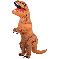 Adult T-Rex Dinosaur Inflatable Costume, Inflatable Dinosaur Suits Huge Blow up T-Rex for Adults