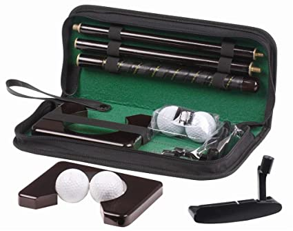 Buy Foldable Executive Golf Set for Office Home Indoor Golf Play Set ...
