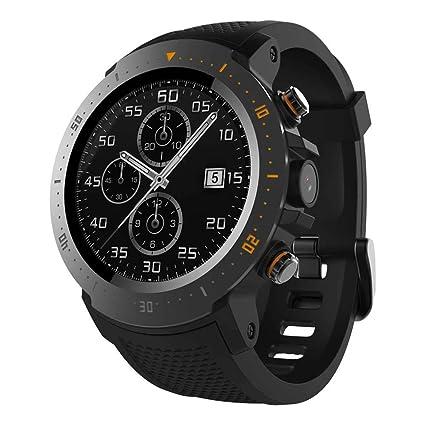 Amazon.com: Android SmartWatch Monitor de ritmo cardíaco 1GB ...