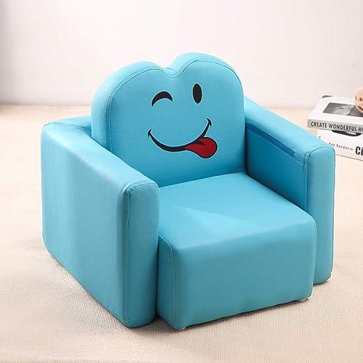 V&K Mini sofá Infantil, Smile Face sofá Silla Infantil ...