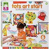 Tots Art Start Beginners Art Kit makes 6 craft activities 18 mo + Alex Jr NIB supply:irene224466