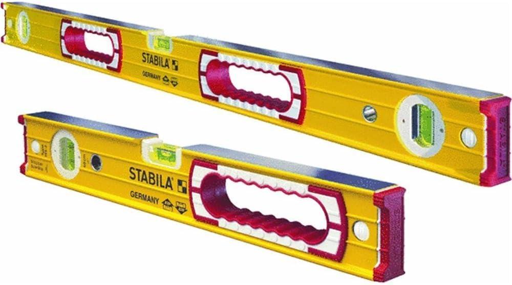 B0000A9918 Stabila 37816 48-Inch and 16-Inch Aluminum Box Beam Level Set 61e0jtTlNwL.SL1000_