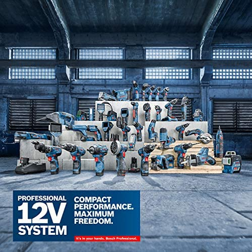 Bosch GSB 12V-15 Professional Cordless Drill, Multicolor (Blue / Black / Red)
