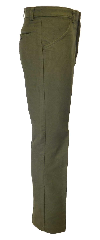 colore verde oliva//beige Walker /& Hawkes mutande da uomo Moleskine 100/% cotone