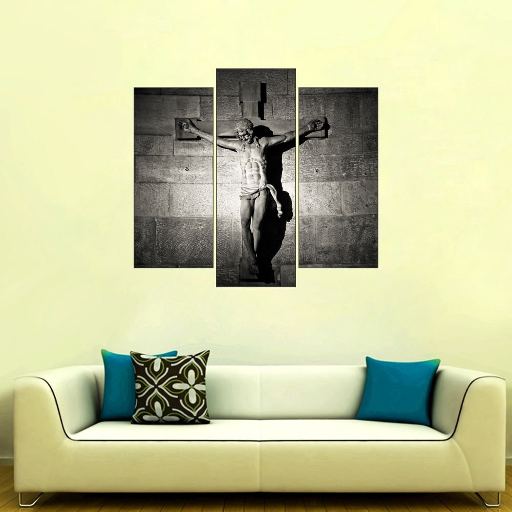 Pvc Vinyl Jesus Design Cut Out Wall Sticker Home Décor 25 X 22 Inch ...