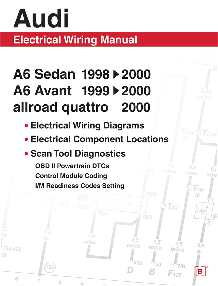 61e0l3fPieL audi a6 electrical wiring manual a6 sedan 1998, 1999, 2000 a6 Audi Wiring Diagram 1999 at edmiracle.co