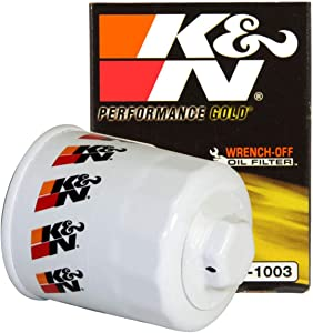 K&N Premium Oil Filter: Designed to Protect your Engine: Fits Select TOYOTA/LEXUS/SUZUKI/CHEVROLET Vehicle Models (See Product Description for Full List of Compatible Vehicles), HP-1003