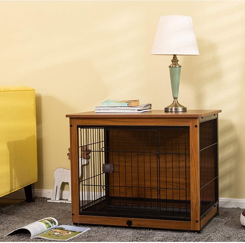 Eine Hundebox aus Holz. Perfekt für Zuhause