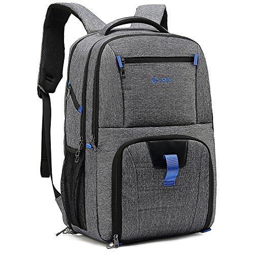 DTBG Business Laptop Backpack Everyday Bag Backpack 17.3 Inch Anti-theft Large Ultra Versatile Work Knapsack / Bookbag / Kitbag With USB Charging Port for Man and Women - ()