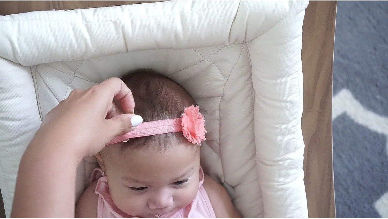newborn headband Baby headband toddler headband,Lavender Baby Headband,Shabby Flower Headband,Shabby Baby Headband baby girl headband