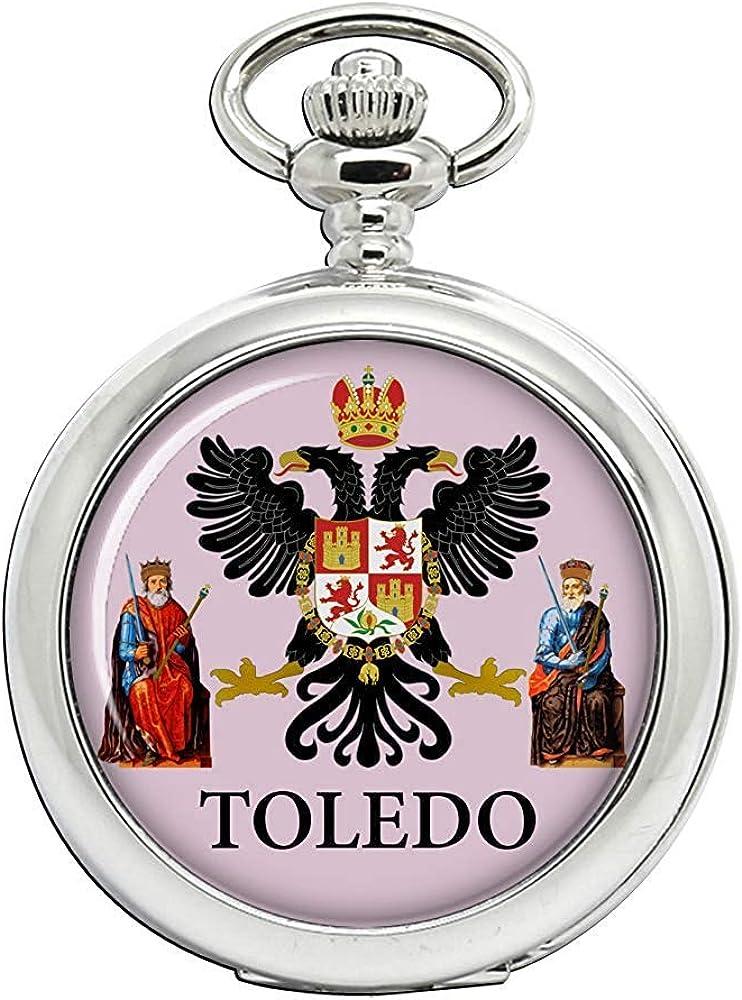 Toledo City (España) Reloj Bolsillo Hunter Completo: Amazon.es: Relojes