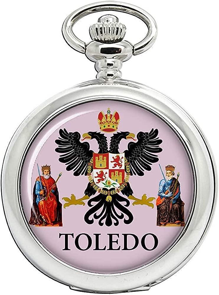 Toledo City (España) Reloj Bolsillo Hunter Completo: Amazon.es ...
