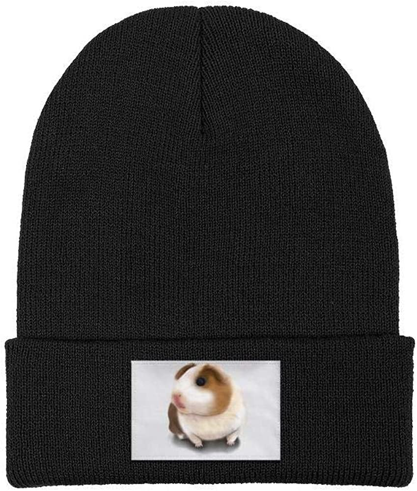 Winter Beanie Hat Golden Retriever Dog Knit Skull Cap for Men Women
