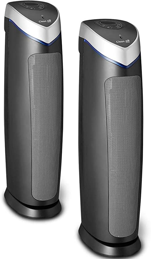 Doble Pack! 2 Purificadores de aire con ionizador Clean Air Optima ...
