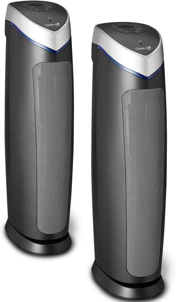 Doble Pack! 2 Purificadores de aire con ionizador Clean Air Optima ...